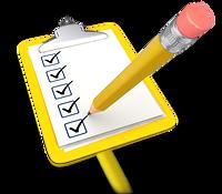 pencil_draw_checkmark_yellow_clipboard_400_clr_3271