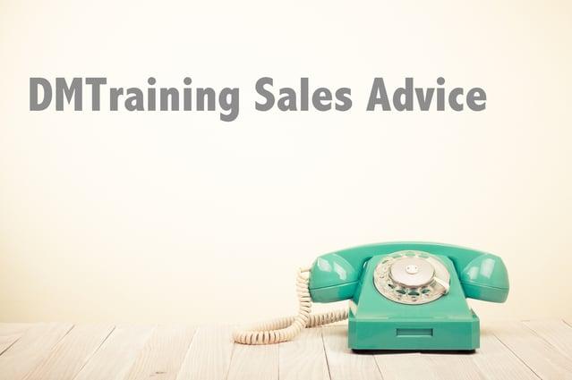 Phone DMTraining Sales Advice