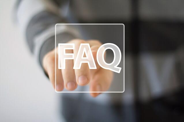 FAQ button icon