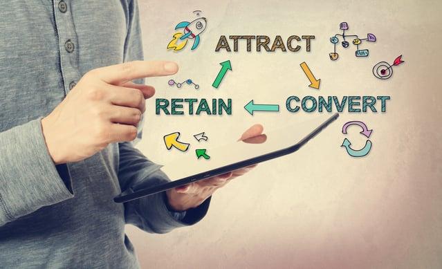 Attract, convert, retain customers