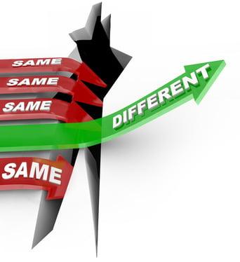 different_versus_same