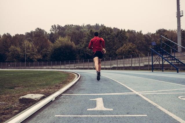 Running in first