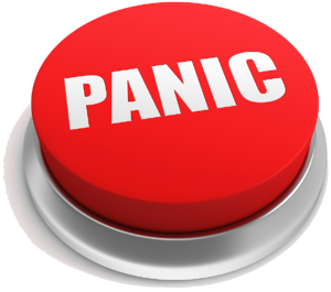 red-panic-button