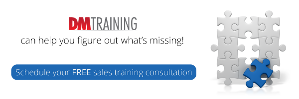Figure out what's missing. Schedule your FREE sales training consultation