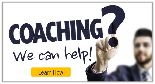 Need coaching? We can help!